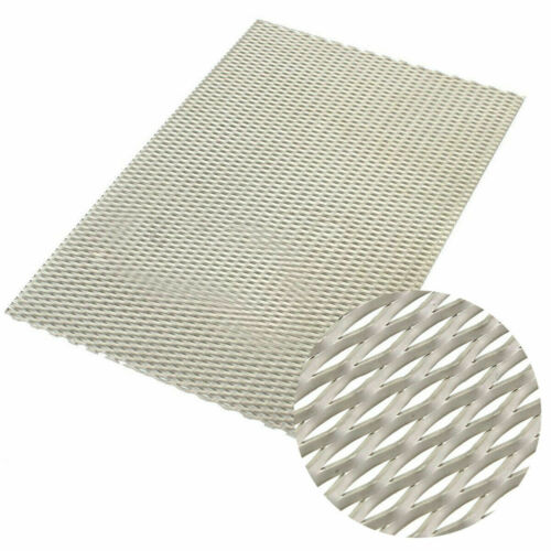 Metal Titanium Grade Mesh Perforated Diamond Holes Plate Expanded 300x200x0.5mm