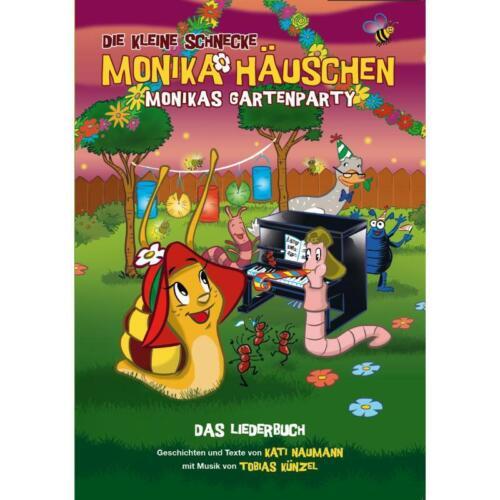 Monikas Gartenparty Liederbuch Die kleine Schnecke Monika Häuschen Noten