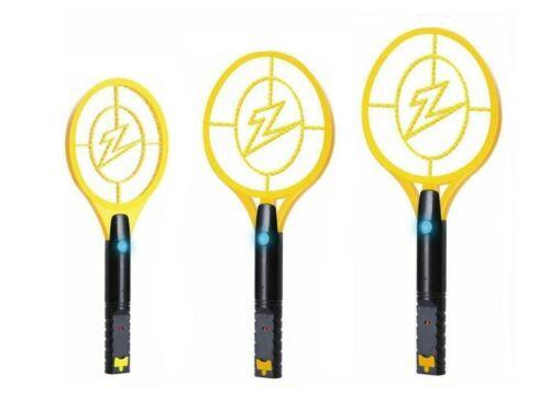 ZAP IT Bug Zapper Rechargeable MosquitoFly Killer /& Bug Zapper Racket