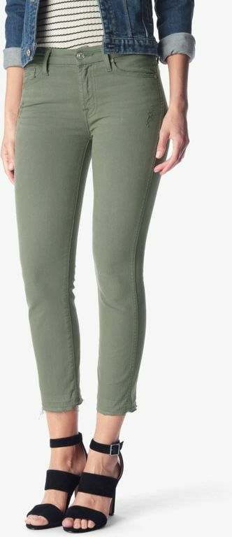 NWT 7 FOR ALL MANKIND ANKLE STRAIGHT WITH RELEASED HEM IN FATIGUE Sz 29-