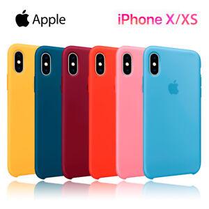 Funda Apple Silicone case para iPhone X XS silicona resistente suave ... eaec7dfb77