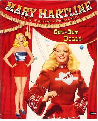 VINTGE UNCUT 1954 TRUDY IN TEENS PAPER DOLLS HD LASER REPRODUCTION~LO PR~HI QU