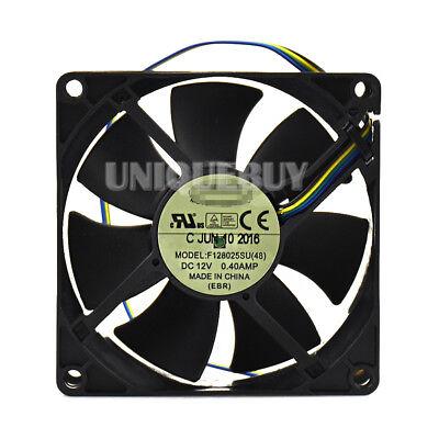 Everflow F128025SU 8025 8CM 80mm 80*80*25mm DC 12V 0.40A PWM CPU cooling fan