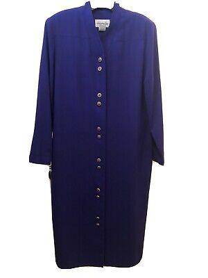 Vintage 70s Henry Lee Womens Shirtdress Long Sleeves Striped ILGWU Tag