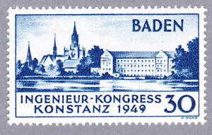 Baden-Konstanz-Mi-Nr-46-Plattenfehler-I-postfrisch