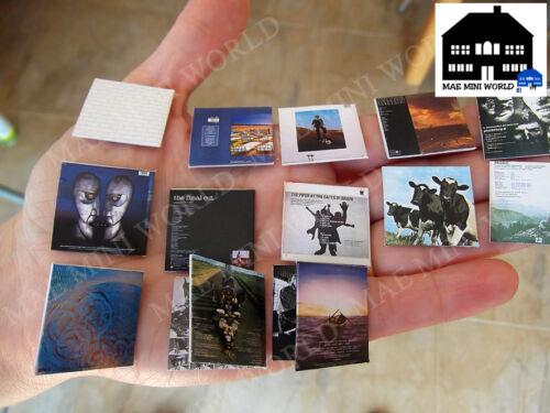 Pink Floyd Collection All studio Album 14 Record Miniature MAE Mini World.USA