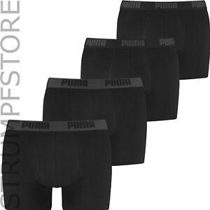 Puma-Calzoncillo-Boxer-Boxer-Slip-Hombres-2-4S-M-L-XL-Negro