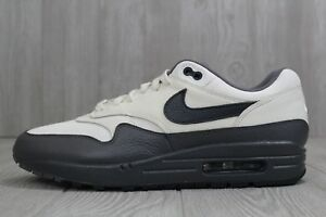 cb847b80cc7b 30 New Mens Nike Air Max 1 Premium Sail  Obsidian-Dark Grey Shoes ...