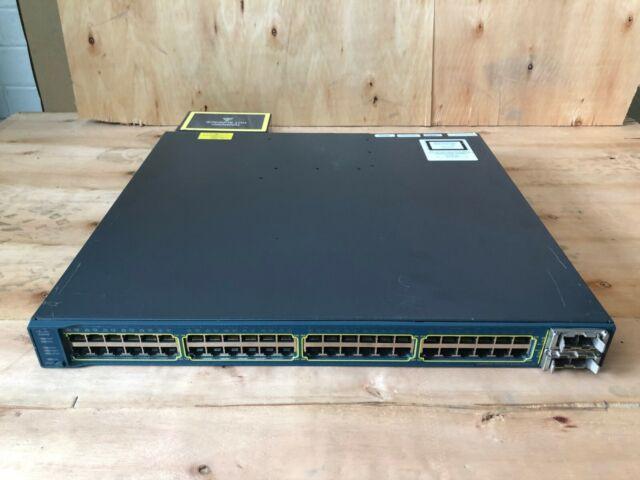 Cisco WS-C3560E-48PD, 48x Gigabit switch, 850W PoE, 2x 10Gb CVR-X2-SFP 1150W