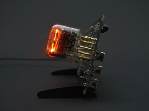 IN-12 Nixie Tube Clock With Tubes.