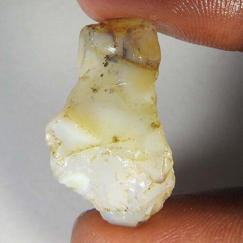100/% Natural Ethiopian Multi Fire Opal Facet Rough Specimen Gemstone