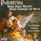 Palestrina: Missa Papae Marcelli; Missa Assumpta Est Maria (CD, Nov-2013, Alto)