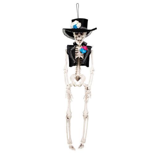 40 cm hängend Halloween Dekoration NEU Deko-Skelett El Flaco