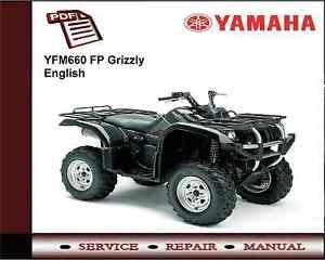 yamaha yfm660 fp grizzly service repair workshop manual ebay rh ebay ie 660 Grizzly Stuck Grizzly 700