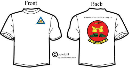 MWSS-371 Squadron T-Shirt Long or Short Sleeve D-2