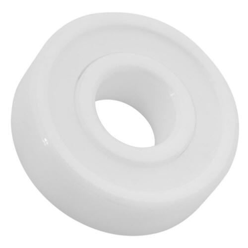 10x26x8mm White Color ZrO2 Full Ceramic Miniature 6000-2RS Ball Bearing Reliable