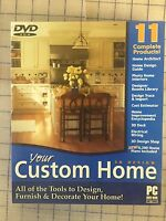 Custom Home Designer Pc Dvd - Valusoft Brand Original Retail Package