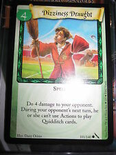 HARRY POTTER TCG GAME CARD CHAMBER OF SECRETS DIZZINESS DRAUGHT 101/140 COM MINT