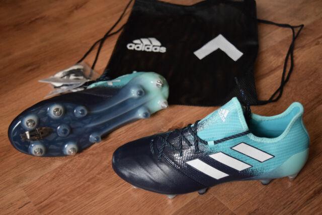 Adidas Ace 17.1 Primeknit SG Blu Bianco 43 1 3  e72e1a43652