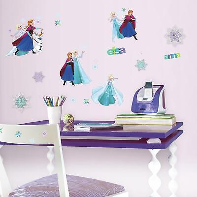 Dekoration Frozen Wall Stickers 8 Decals Disney Snow Queen Anna Elsa Olaf Snowflakes Decor Mobel Wohnen Bridgewell Com Au