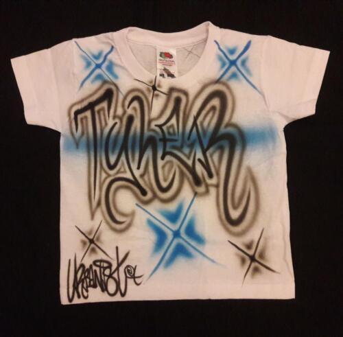 Urbanist Graffiti street dance hip hop airbrushed children/'s T-Shirts