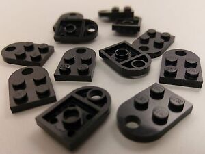 Bulk Lot Lego Part No.3176:Plate, Modified 3 x 2 with Hole ...