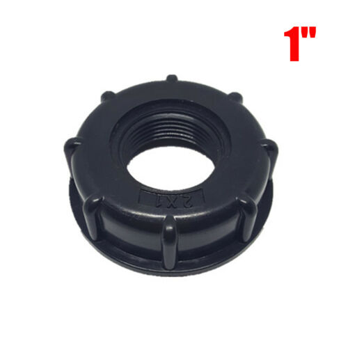 IBC Tank S60X6 Coarse Threaded Cap 1//2/'/',3//4/'/',1/'/' Adaptor//Connector
