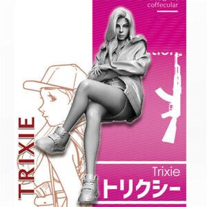 1-35-Trixie-girls-in-action-Resin-Model-Kits-non-peinte-GK-non-assemble