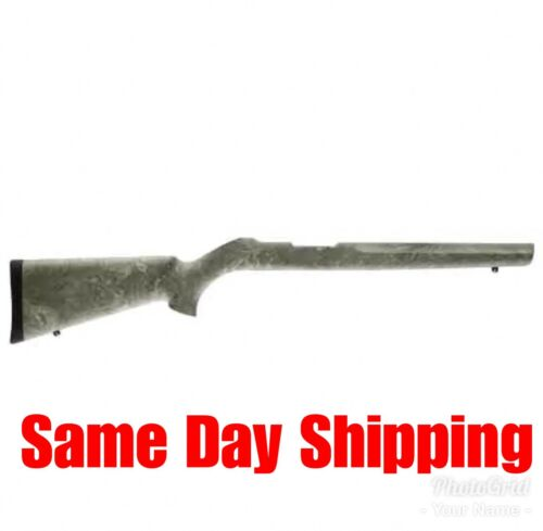 "Hogue Stock For Ruger 10//22 Ghillie 22810 Overmolded .920/"" Diameter Heavy Bar"