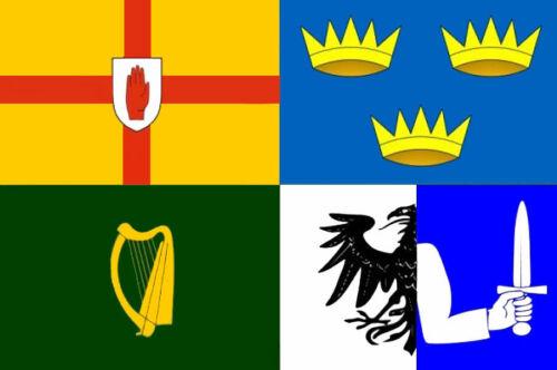 Ireland Four Provinces Flag 8/'x5/' Irish St Patrick/'s day