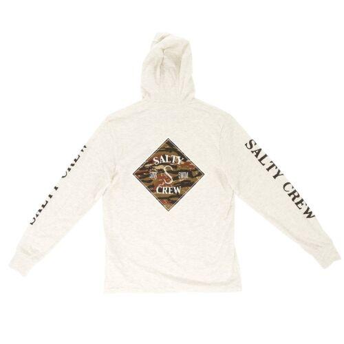 Tippet Salty Herrenhemd Elfenbeinweiß Hooded Brand Bass Authentic New 100 Crew qxwx7CvZp5