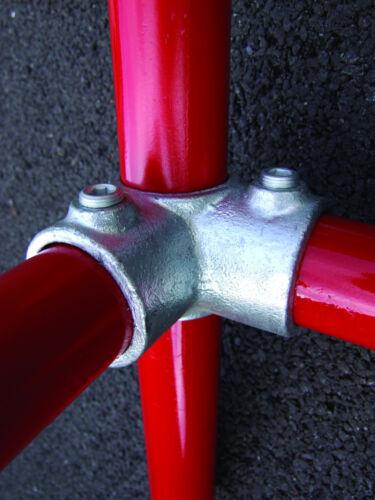 116 Tube Scaffold Kee Allen Key Handrail Pipe Klamp Fitting **3 way ** Q Clamp