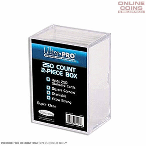 Ultra-Pro 250 Count Standard Trading Card Storage Box