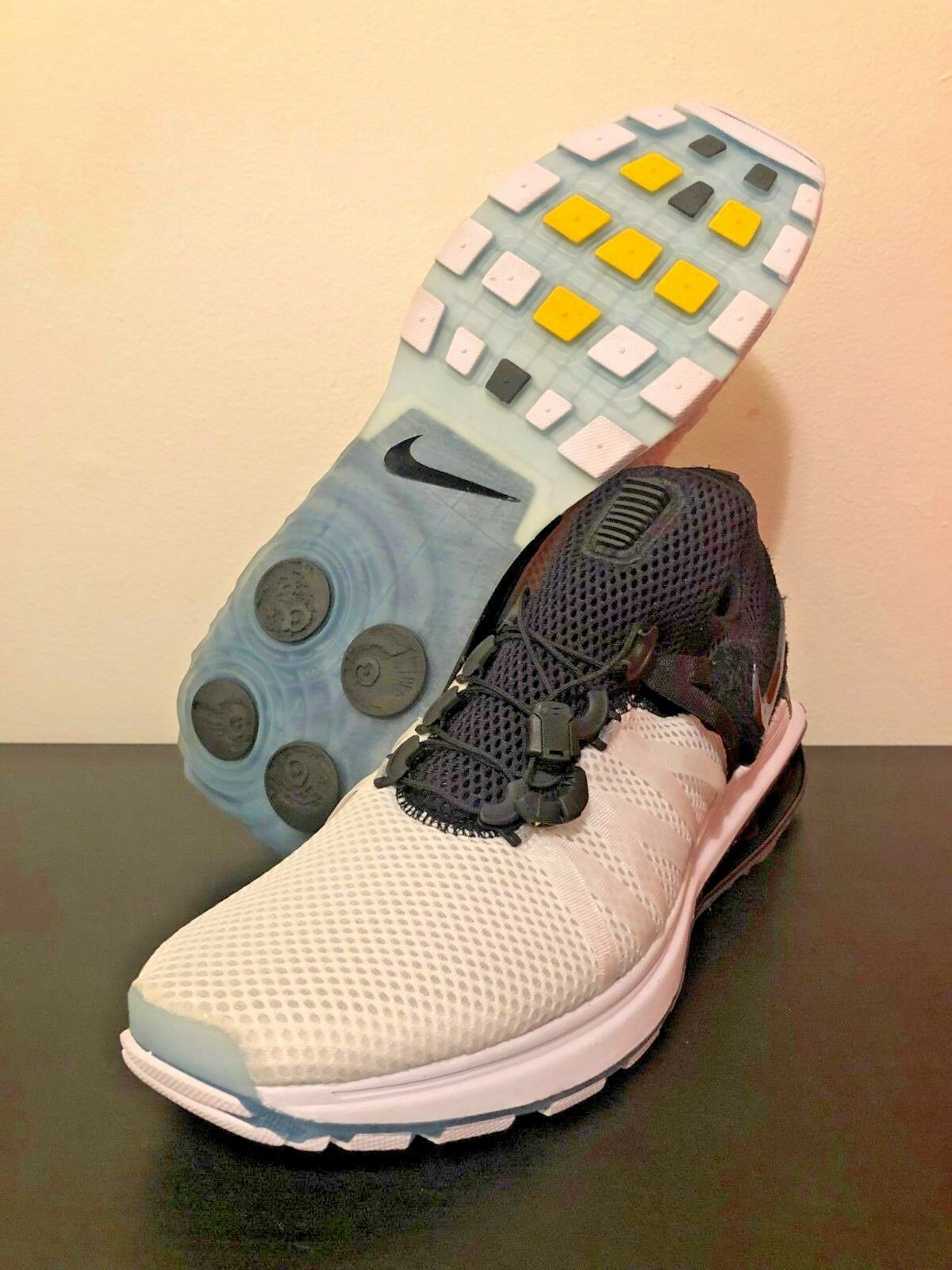 Nike Shox Gravity Running shoes Black White AR1999-101 Men's Size 10.5