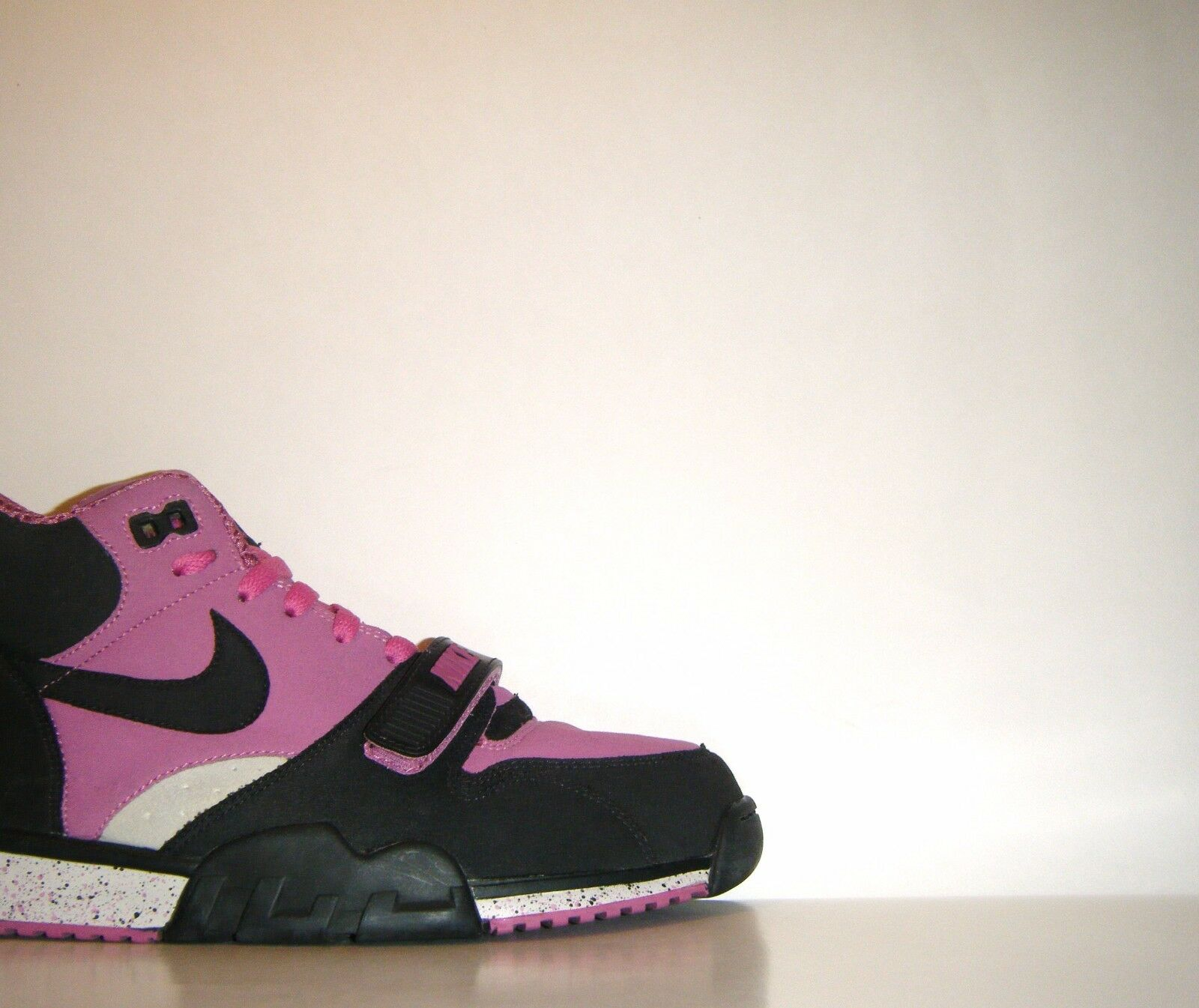 2007 Nike Air Air Air Trainer 1 Mid Tech Pack LOOK-SEE SAMPLE Sz. 9 Rare Vtg Promo PE 6fe503