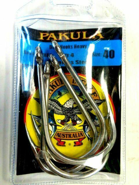 4 Pack f// Sprocket Wombat Rat Pakula Stainless Dojo Hooks DHX40 Heavy Size 40