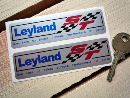 British Leyland St Plata adhesivos para coches Mini Metro Mg A