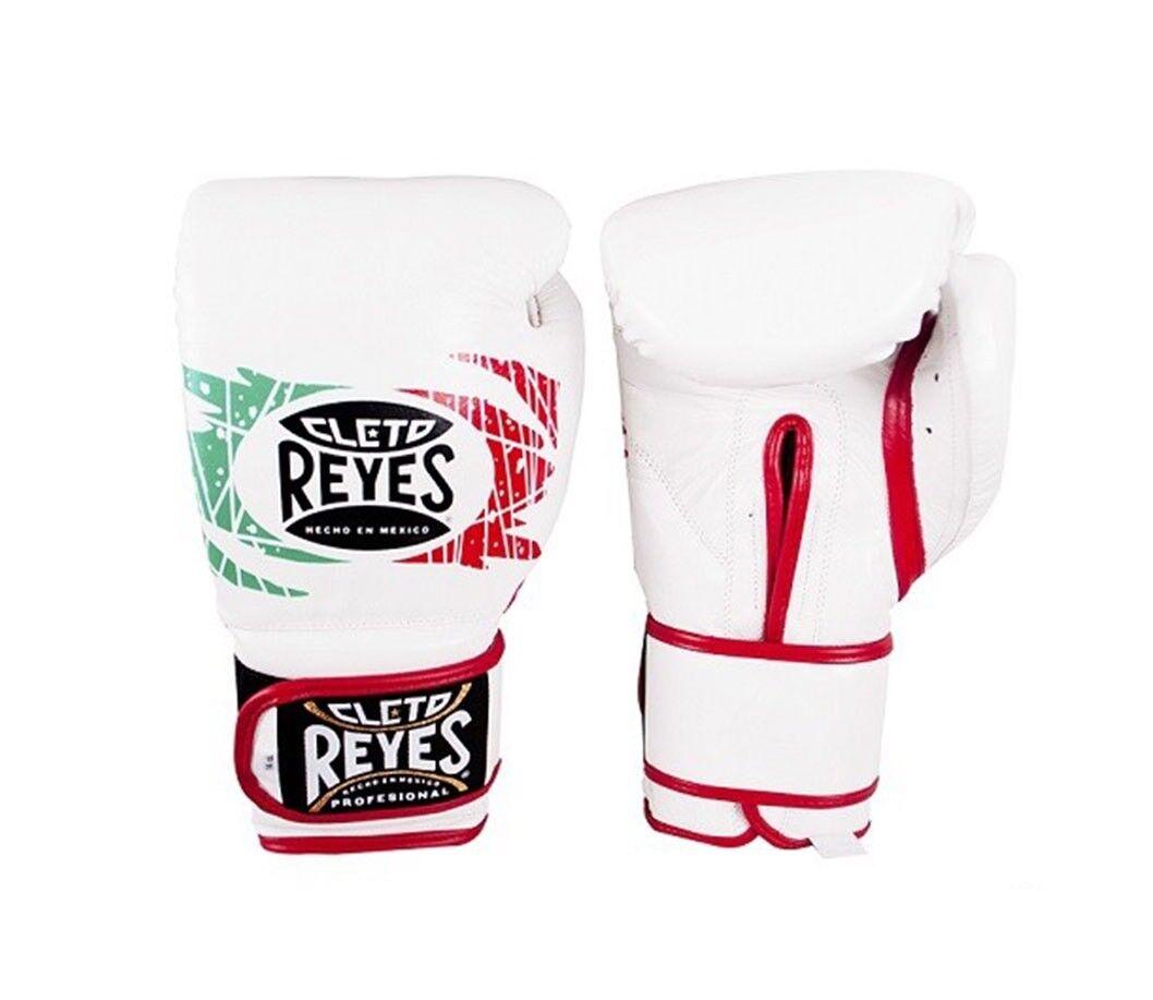 Cleto Reyes Velcro Combate Guantes de Boxeo Mejicano Entrenamiento 10oz 12oz