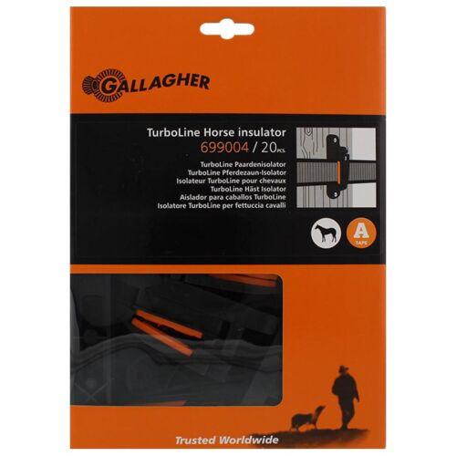 20 x Gallagher Weidezaunband Isolator Weidezaun Isolator TurboLine Easy2use
