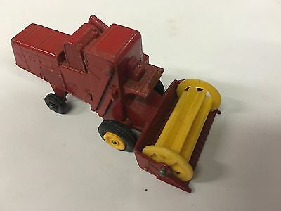 65 COMBINE HARVESTER REPRO BOX MATCHBOX 1:75 n