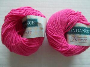 Berlini Alana cotton blend yarn lot of 2 160 yds ea Jelly Beans