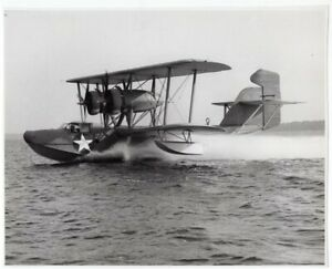 1938-1944-Coast-Guard-PH-2-Hall-Flying-Boat-Original-News-Photo