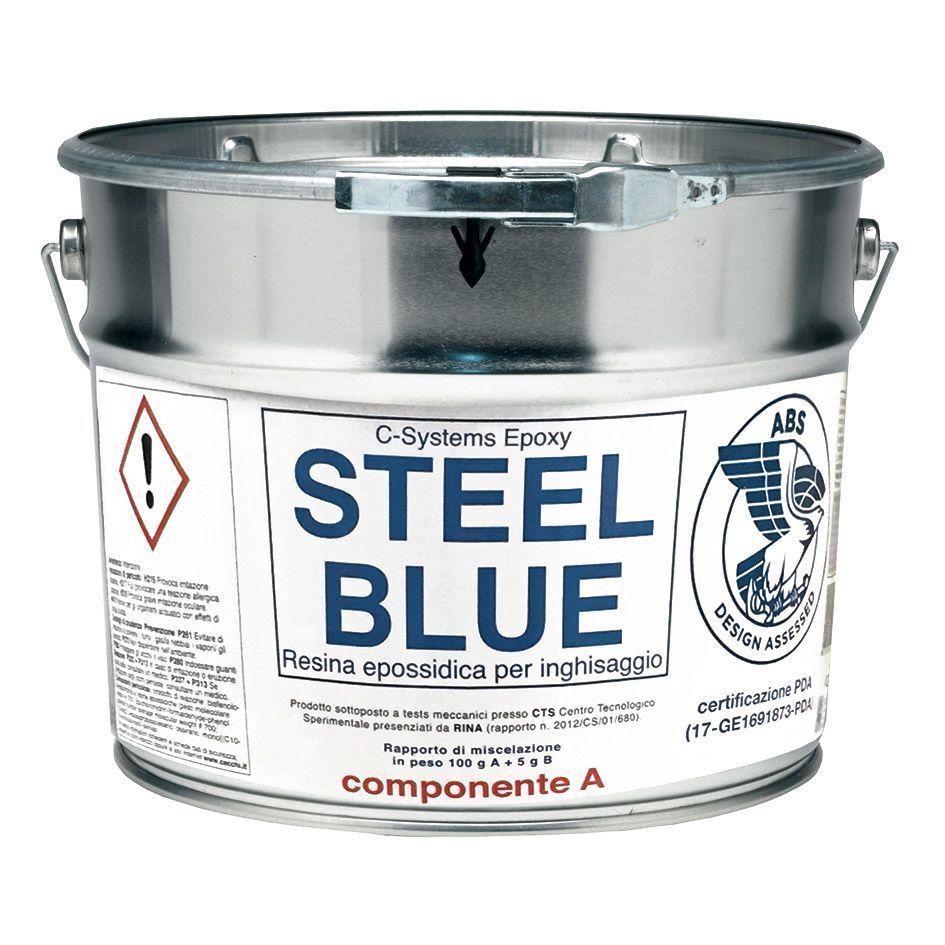 Harz Epoxy Zweikomponenten c-Systeme Steel blau 9Kg für Guss Marke Cecc Cecc Marke 733d28
