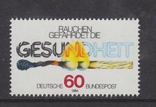 1984 WEST GERMANY MNH STAMP DEUTSCHE BUNDESPOST ANTI-SMOKING  CAMPAIGN  SG 2078