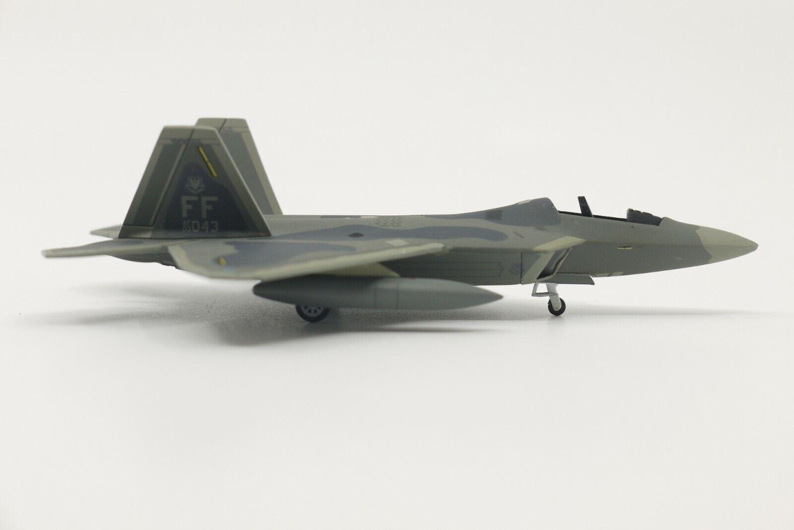 60449 Hogan Wings F-22A Raptor 1//200 Model #01-4020 USAF 325th FW 43rd FS