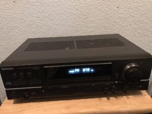 Technics-SA-EX140-AV-Control-Stereo-Receiver-Home-Audio-Class-H