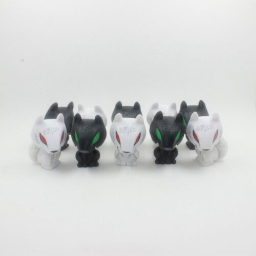 10PCS Funko Pop Vinyl Game Of Thrones Mystery Minis Ghost White And Black Wolf