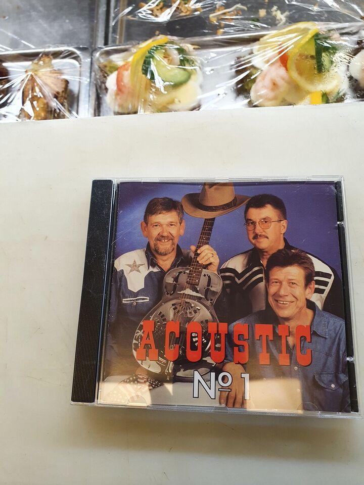 Forskellige Kunstnere: Acoustic no. 1, country