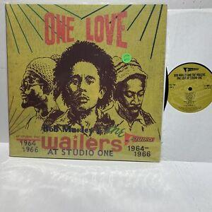 Bob-Marley-Wailers-One-Love-Studio-One-Reggae-2LP-VG-EX