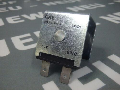 27510163GR Solenoid coil C-8 24VDC   NEW GRE 275-1-0163G-R
